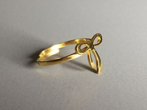 ring loop gold plated